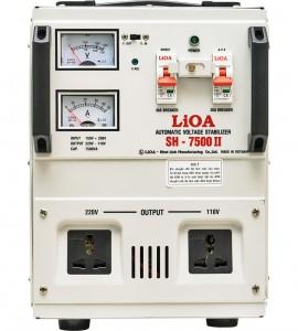 ỔN ÁP LIOA 1PHA SH-7.5KVA SH7500 II