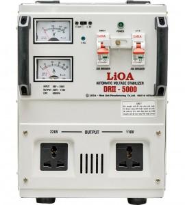 ỔN ÁP LIOA 1PHA DRII-5KVA DRII-5000 II